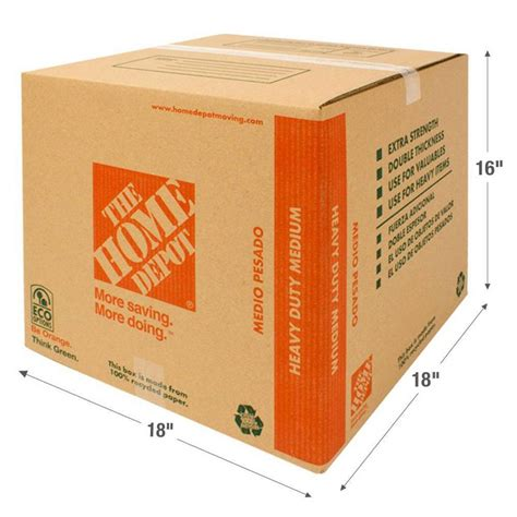the home depot 18 in l x 18 in w x 16 in d heavy duty