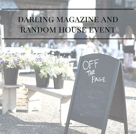 random house events july 19 2015
