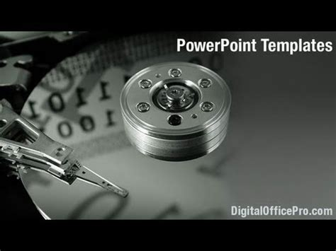 drive powerpoint templates disk drive powerpoint template backgrounds
