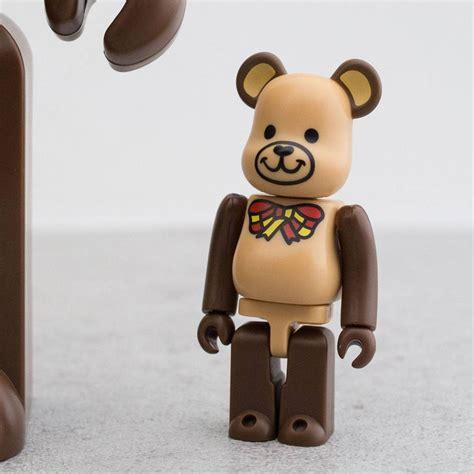 400 Brown Bea Rbrick medicom freemasonry 100 400 bearbrick figure set brown