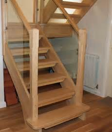 Open Staircase Open Stair Northwich Cheshire Timber Stair