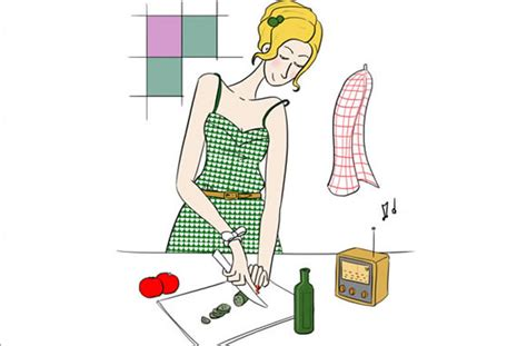 sexe en cuisine un homme en cuisine le dessin de clio