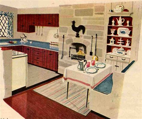 How To Decorate A Ranch Style Home by 50s Or 60s Kitchen Cabinets New In Planked Wood