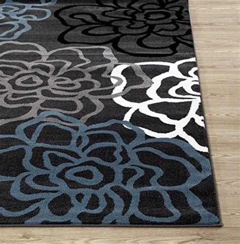 Rugshop Contemporary Modern Floral Flowers Area Rug 3 3 Contemporary Floral Area Rugs