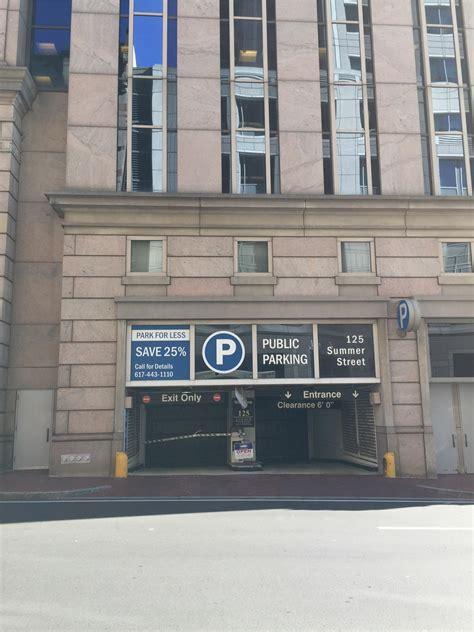 125 lincoln boston ma 125 summer st garage parking in boston parkme