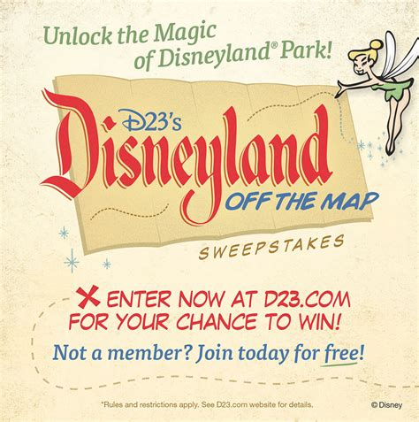 Sweepstakes Offers - new sweepstakes offers d23 members the chance to win a once in a lifetime tour zannaland