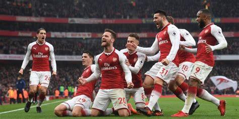 arsenal bola net rekor ozil dan yang tersisa dari derby london utara bola net