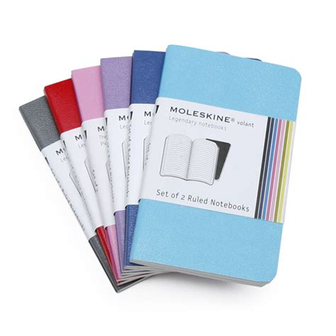moleskine volant notebook moleskine volant mini ruled notebook set of 2 2 5 x 4