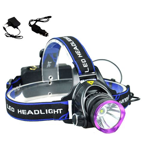 Waterproof Headl Led Cree high power cree q5 waterproof led headl led headlight 3 modes light l with charger