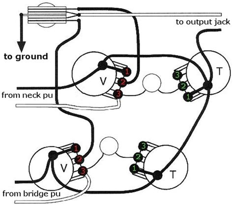 wiring diagram gibson les paul wiring diagram and schematics