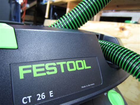 Garage Outlet by Festool Ct 26 Hepa Dust Extractor Review