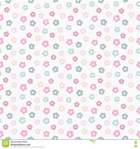 pastel simple pattern simple cute pastel floral pattern stock vector image