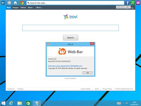 website top bar remove web bar how to remove