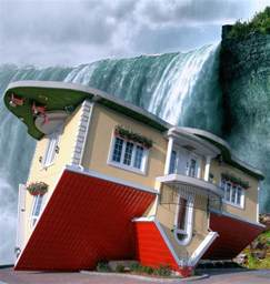How To Change The Floor Plan Of Your House upside down house niagara falls canada