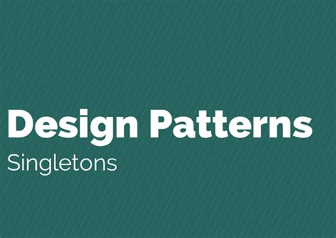 singleton pattern interview questions net singleton design pattern interview questions