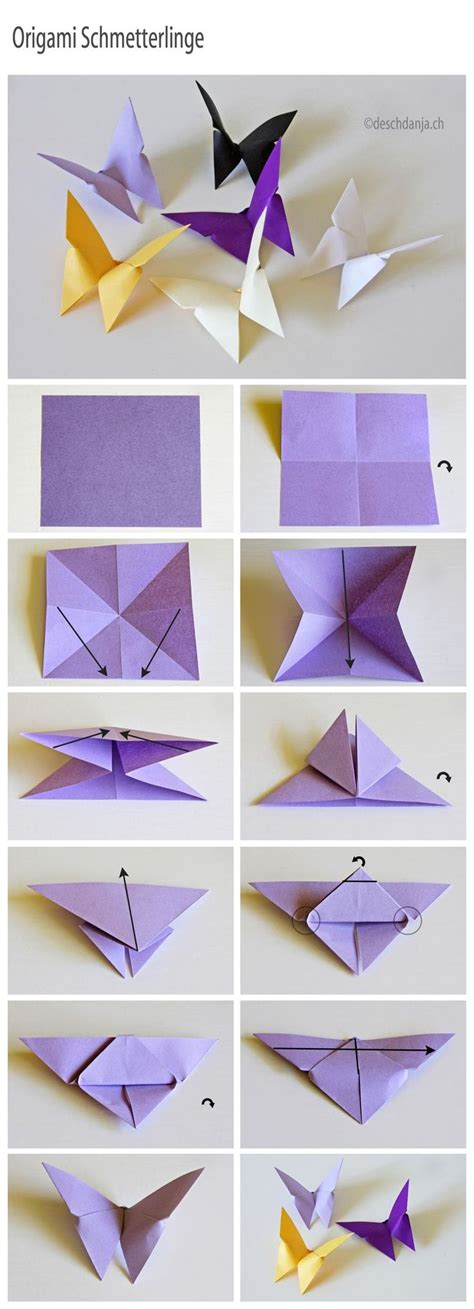 How To Cut Origami Paper - best 25 paper butterflies ideas on paper
