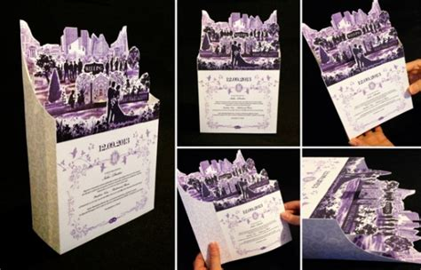 Unique Fold Out Wedding Invitations by 23 Creative And Unique Wedding Invitations Creative
