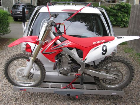 Dirtbike Rack by Dirt Bike Carrier With Car Moto Related Motocross