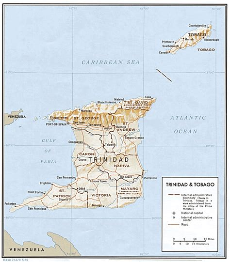Search And Tobago Nationmaster Maps Of And Tobago 3 In Total