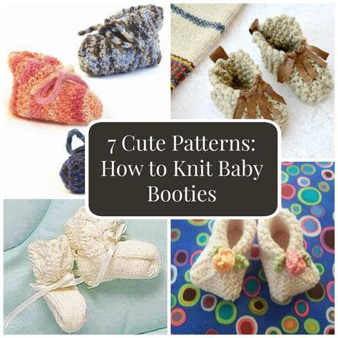 how to knit baby booties 7 patterns how to knit baby booties favecrafts