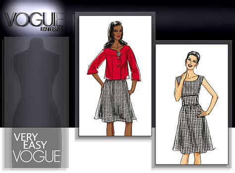 pattern review vogue 9017 vogue patterns 8472 misses jacket and dress