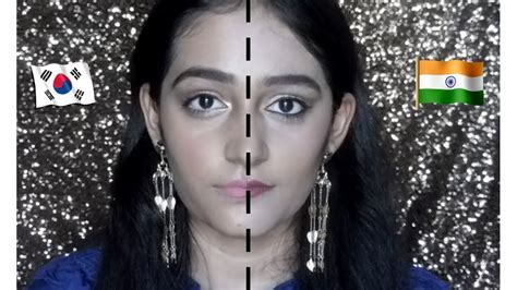 natural makeup tutorial indian indian makeup vs korean makeup korean natural makeup