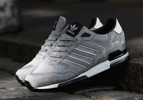 adidas originals zx 750 silver black sneakernews