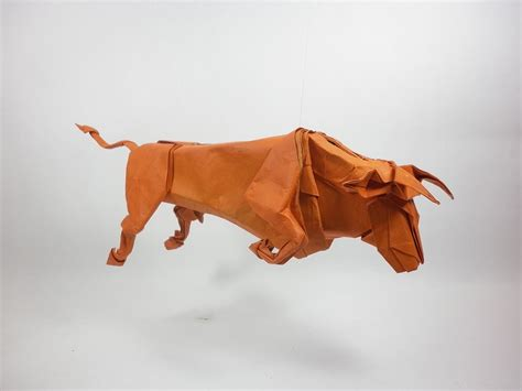 Bull Origami - if you re impressed with this zodiac origami then that s a