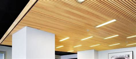 wood slat ceiling system woodworks grille maple 10 essex interiors