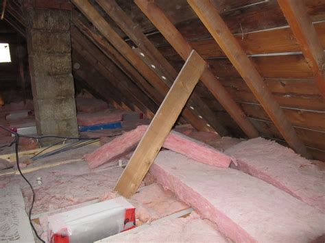 attic ceiling insulation adventures at 1628 how to insulate an attic