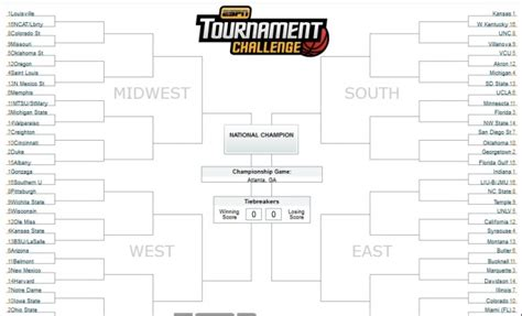 espn tournament challenge get in on the excitement of brackets are back tournament challenge on espn com