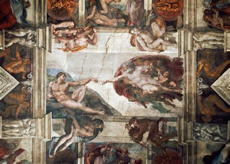 Fresque Plafond by Plafond De La Chapelle Sixtine