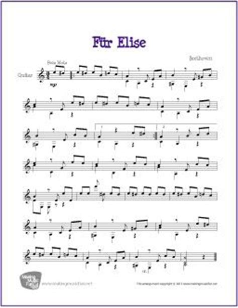 fur elise guitar tutorial 1000 ideas about fur elise sheet music on pinterest