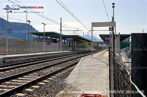 nuova spa palermo aperta la nuova fermata di roccella ferrovie siciliane