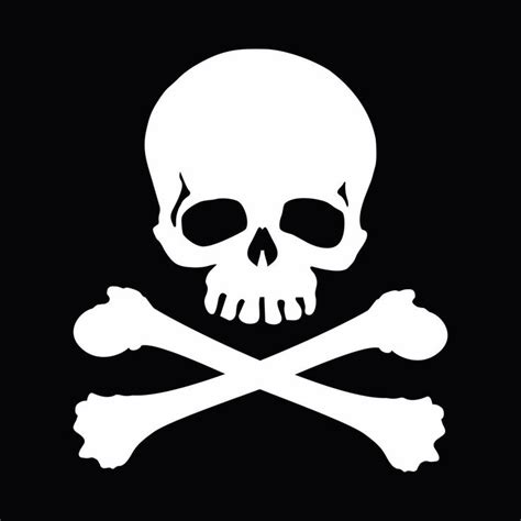 Cutting Sticker Pirate Skull 27 Best Skull And Crossbones Images On Skull