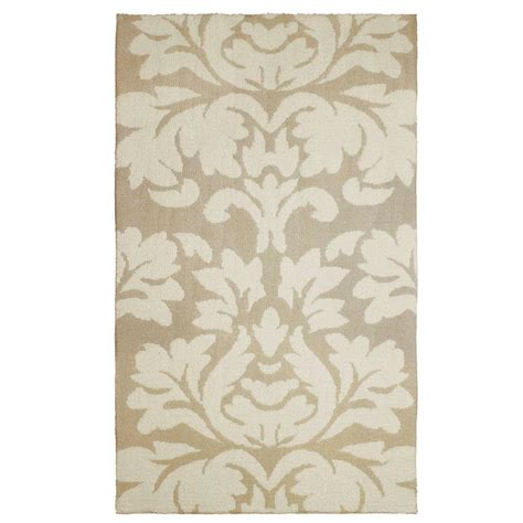 rugs kent home decorators collection winslow walnut 2 ft x 4 ft accent rug 459017 the home depot