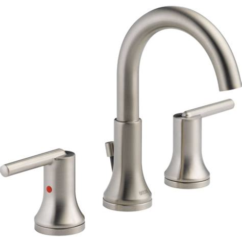 Delta Faucet Jackson Tn by Delta 3559 Ssmpu Dst Trinsic 8 In Widespread 2 Handle