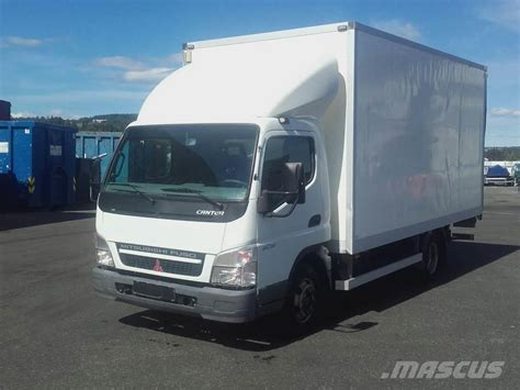 mitsubishi truck canter used mitsubishi fuso canter 6c15 box trucks year 2010