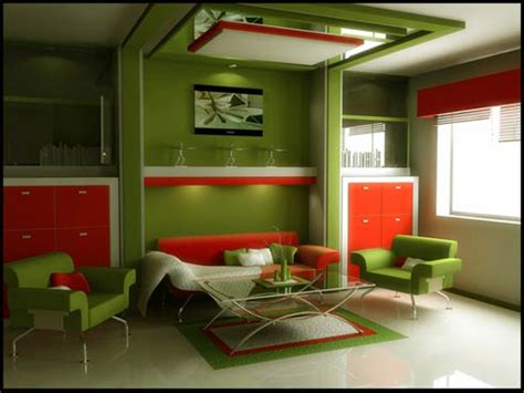 green room design great art decoration modern green living room