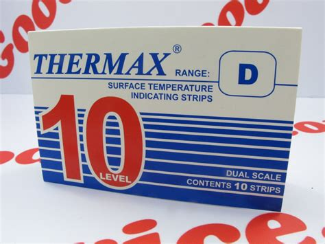 of which color the highest surface temperature thermax temperature label 10 level range d 188 176 c 249 ebay