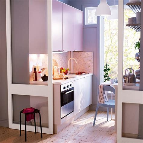 Light Pink Kitchen Rubrik Applad Kitchen In Light Pink From Ikea Colourful Kitchen Ranges 10 Best Housetohome