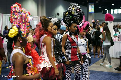 list of exhibitors from the bronner bros show pics bronner brothers atlanta hair show weekend red