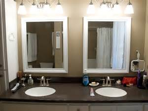 mirrors in bathrooms interior framed bathroom vanity mirrors corner sinks for