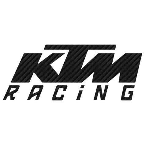 Ktm Carbon Auto by Ktm Racing Carbon Decal