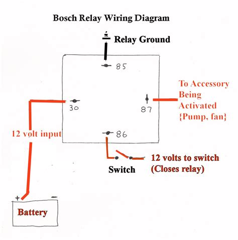 accessory relay wiring diagram images wiring diagram