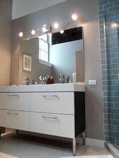 Godmorgon Vanity Light by Godmorgon Cabinet In Bathroom
