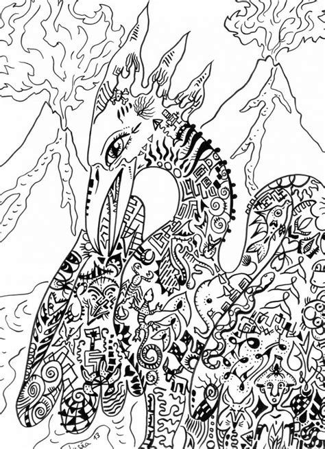 coloring pages for adults mythical phoenix mythical creature colouring for adults