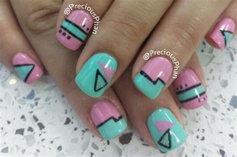 La Nail Colorpop Precious 1 80s nails