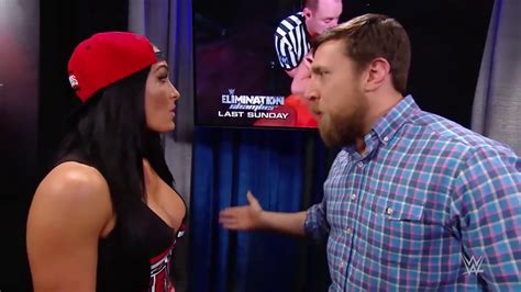 Watch Wwe Smackdown Live 20th September 2016 Wwe Smackdown Live 2016 Nikki Bella Backstage Segment With Daniel Bryan Natalya Youtube