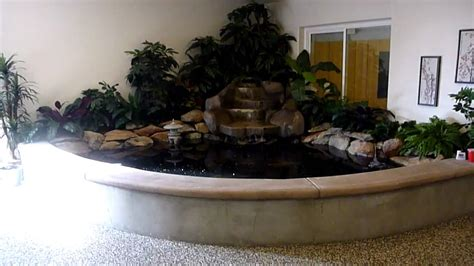 how to make an indoor fish pond my indoor koi pond youtube